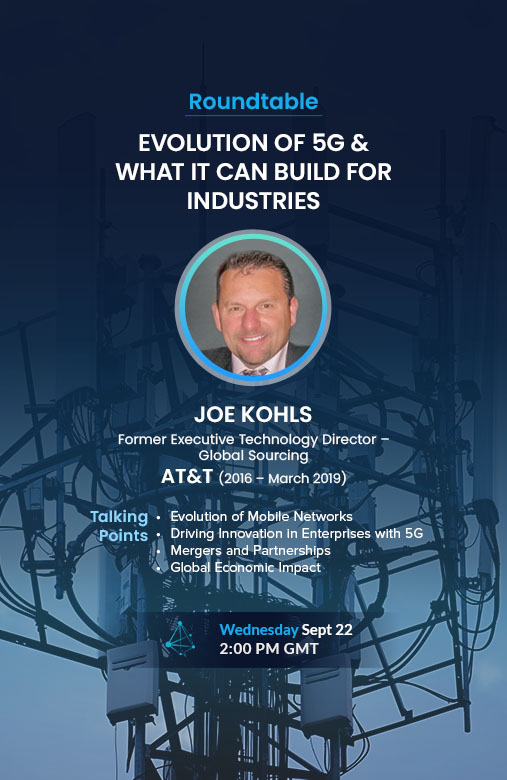 EVOLUTION OF 5G & WHAT IT CAN BUILD FOR INDUSTRIES
