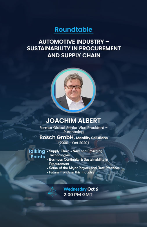 AUTOMOTIVE INDUSTRY - SUSTAINABILITY IN PROCUREMENT AND SUPPLY CHAIN