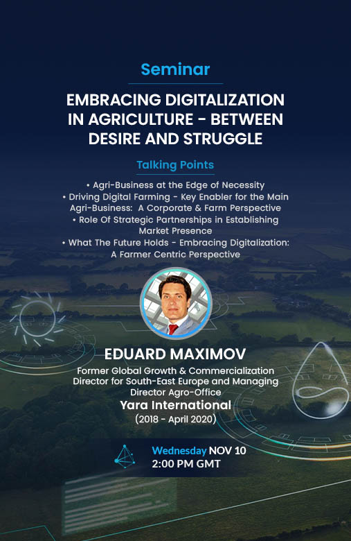 EMBRACING DIGITALIZATION IN AGRICULTURE - BETWEEN DESIRE AND STRUGGLE